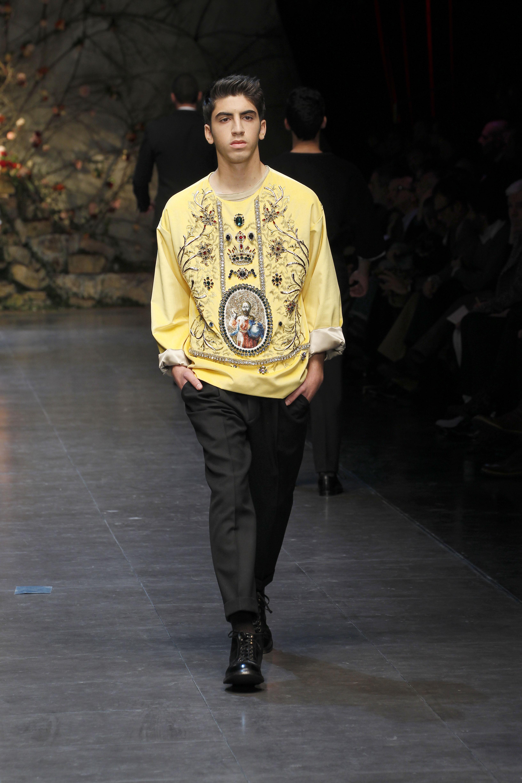 Dolce&Gabbana Men's FW 13-14_1