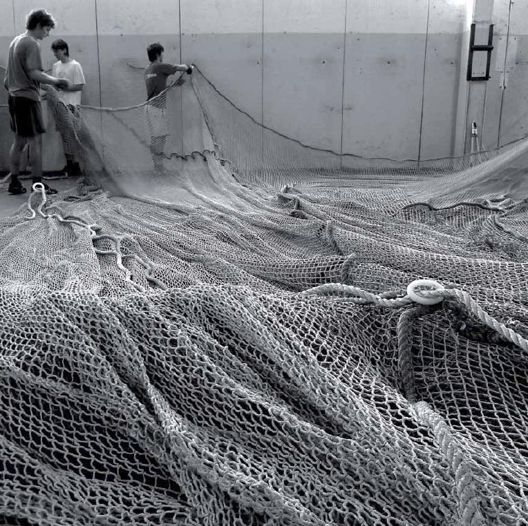 reti da pesca bn uomini