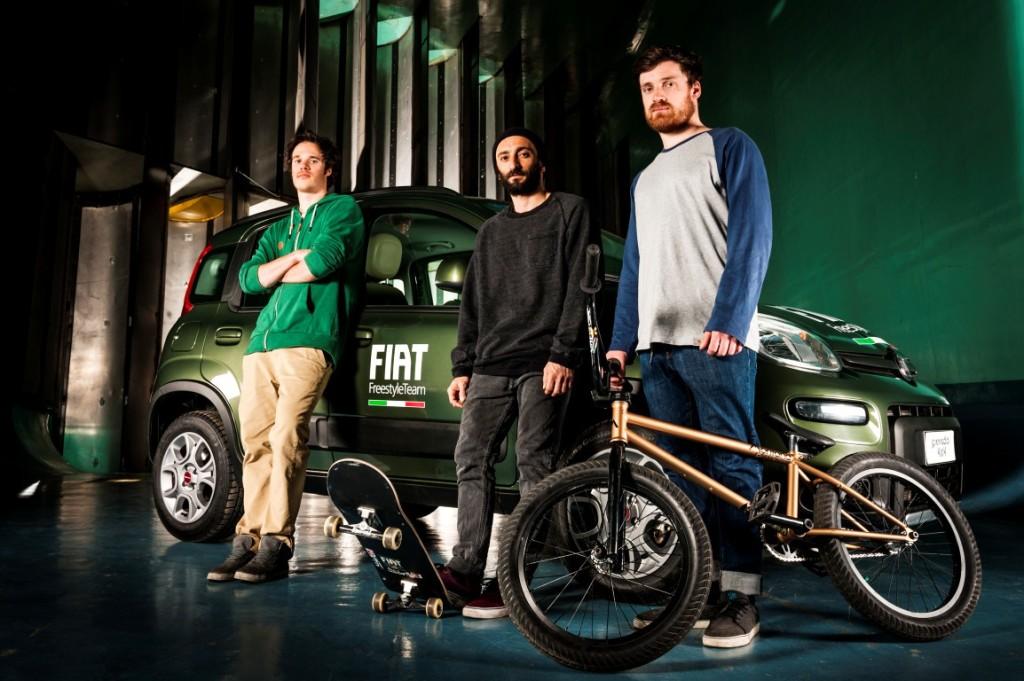 Fiat Freestyle Team - Portrait
