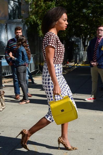 Celebrity Sightings In New York City - September 11, 2012