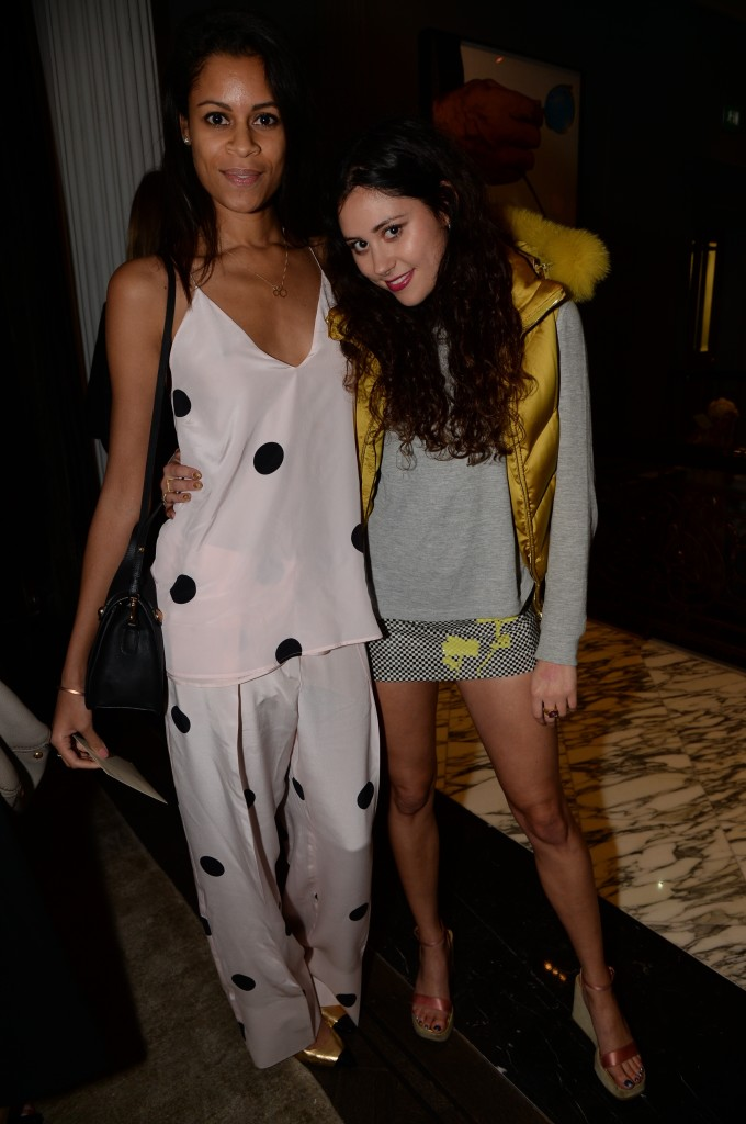 Aluna Francis from AlunaGeorge and Eliza Doolittle