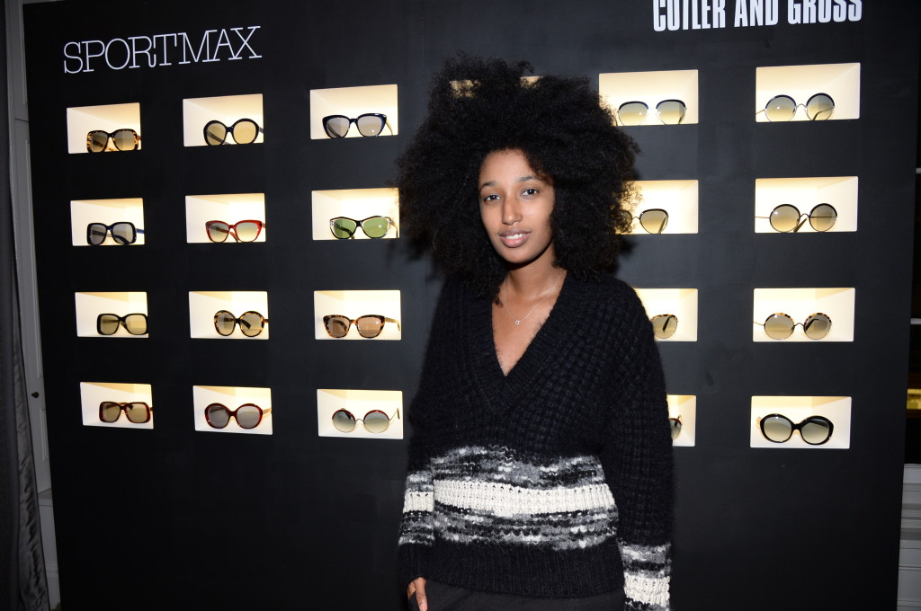 Sportmax and Cutler And Gross eyewear launch party, hosted by Leigh Lezark at The Arts Club