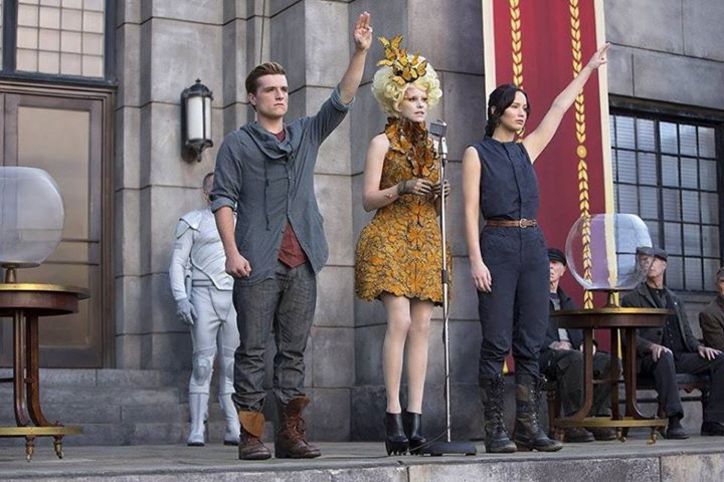 Sorel Conquest Carly Boots on Katniss Everdeen