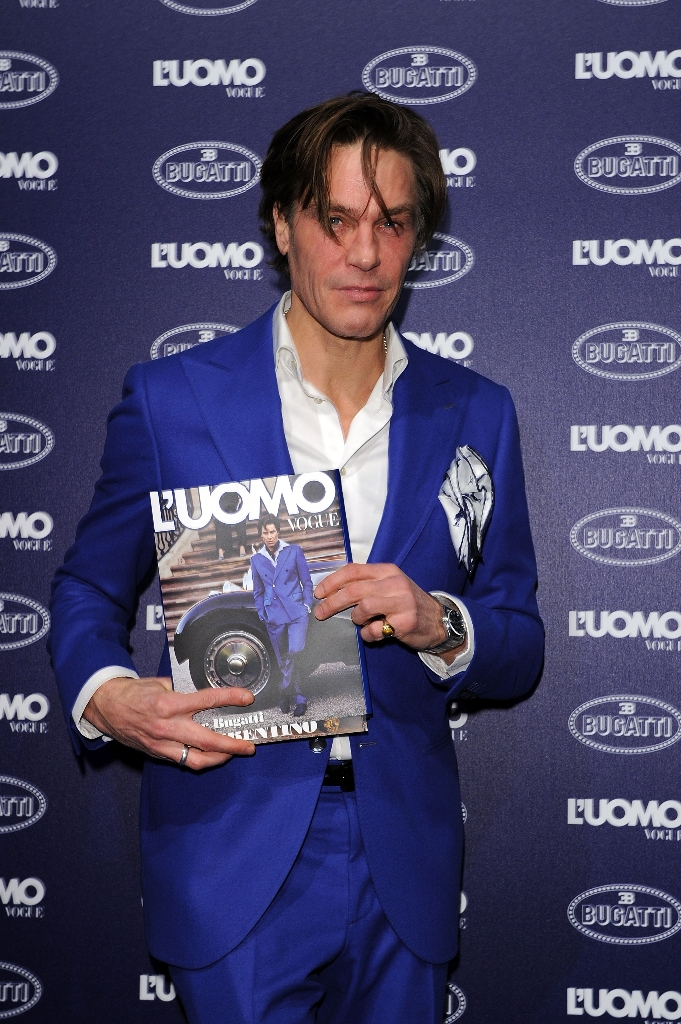 Bugatti and L'Uomo Vogue Collection Party - Arrivals - Milan Fashion Week Menswear Autumn/Winter 2014