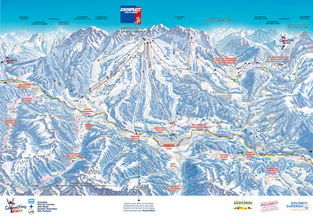 Panoramakarte_Winter_Kronplatz_2013