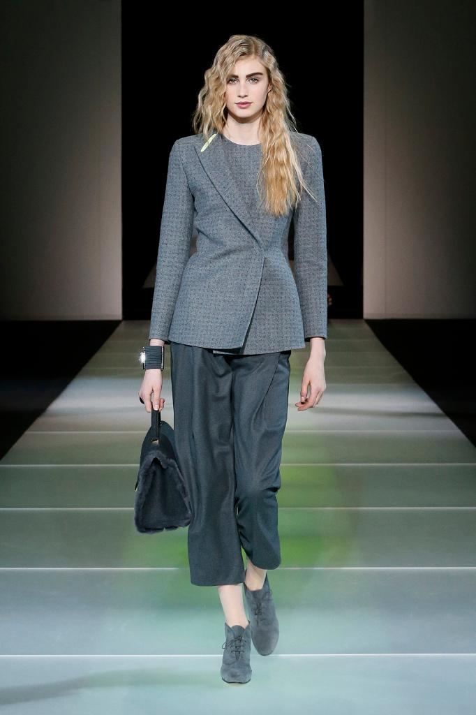 Giorgio Armani Womenswear FW1415 #1