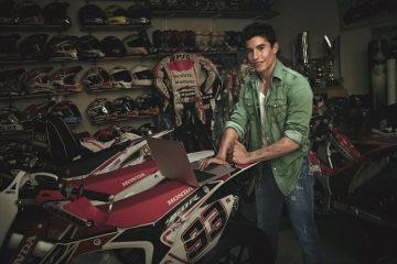 Marc Marquez per Gas Jeans