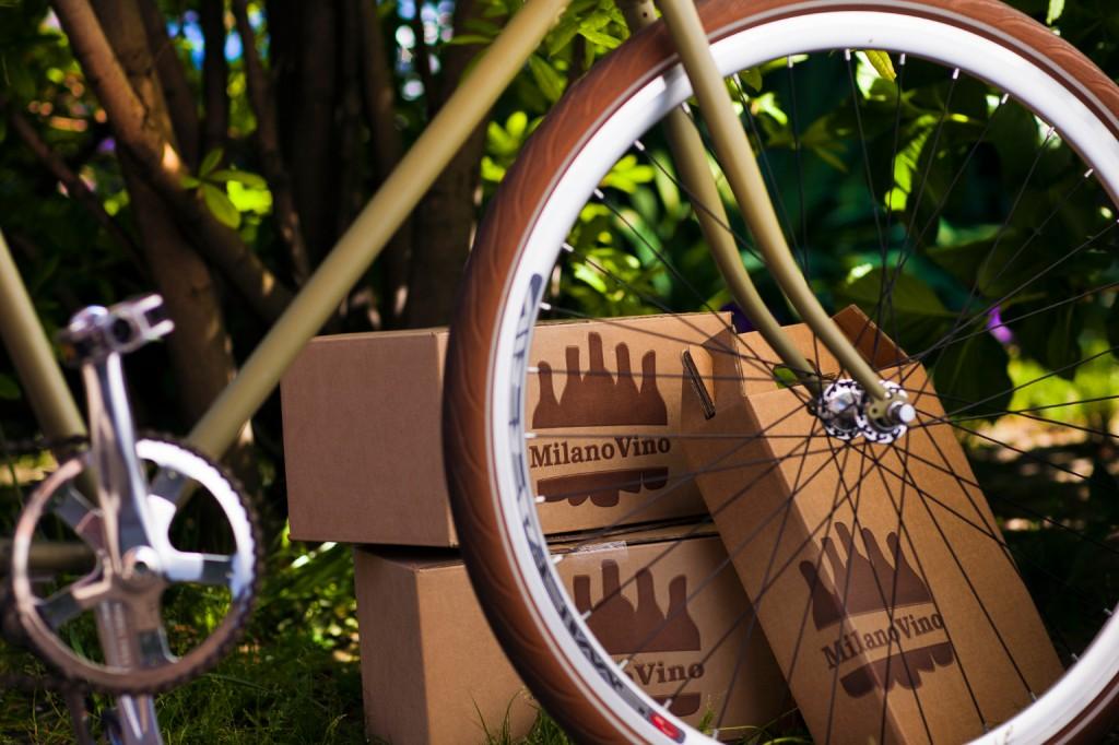 MilanoVino consegna in bicicletta!