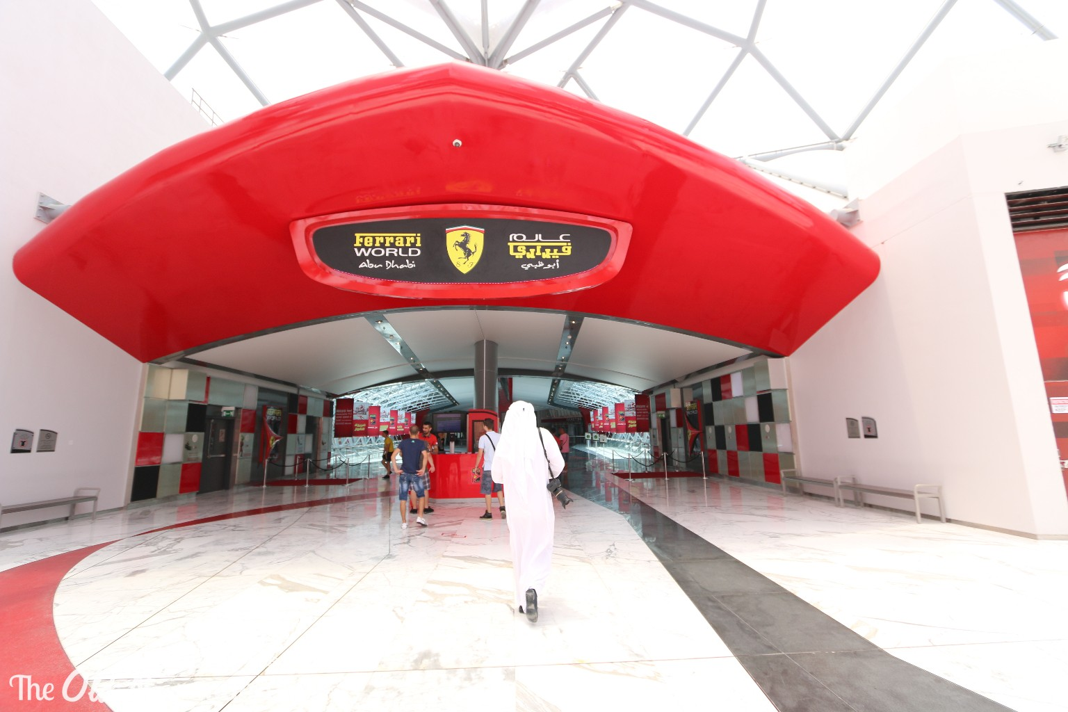 Abu Dhabi Ferrari World THEOLDNOW (4)