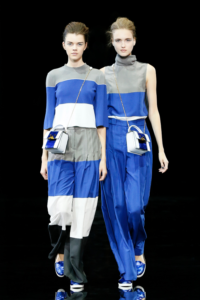 Emporio Armani Womenswear SS15 #02