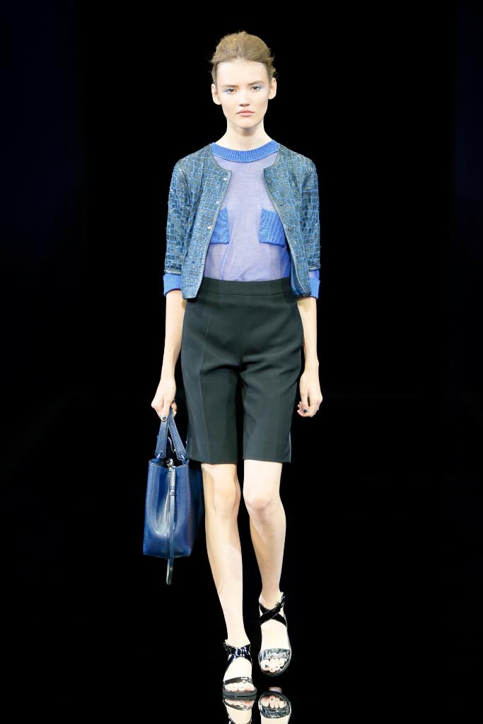 Emporio Armani Womenswear SS15 #03