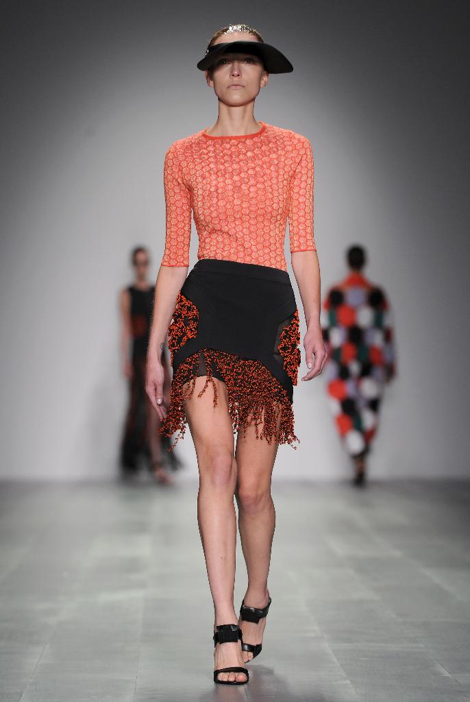 H By Hakaan Yildirim Spring 2015 Collections - Runway - London Fashion Week
