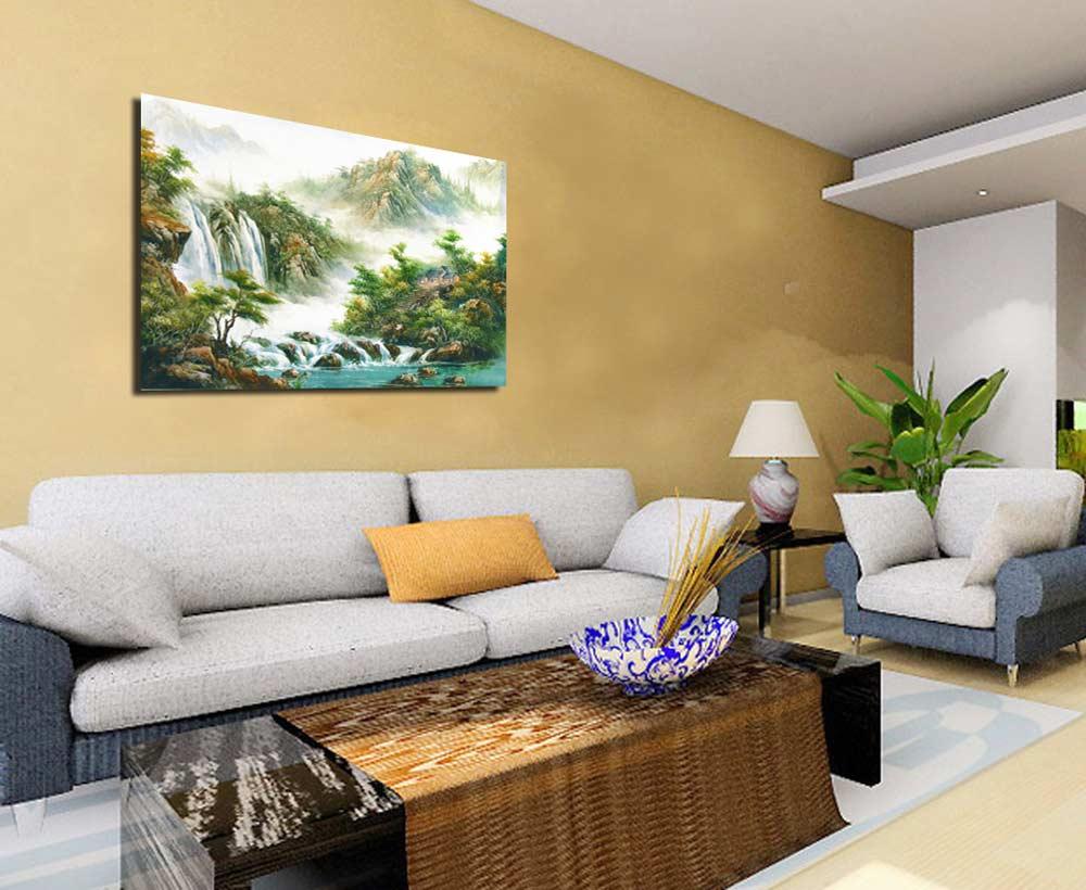 L ultima tendenza per l arredamento di casa le stampe su tela - Quadri per casa moderna ...