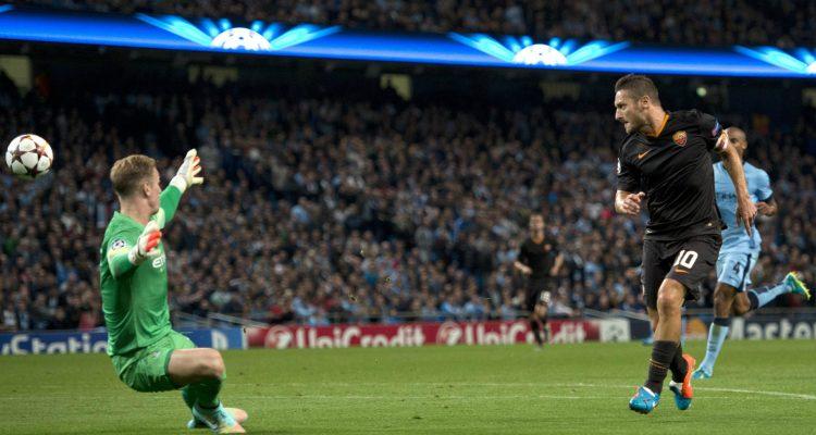 Il Gol di Francesco Totti contro il Manchester City