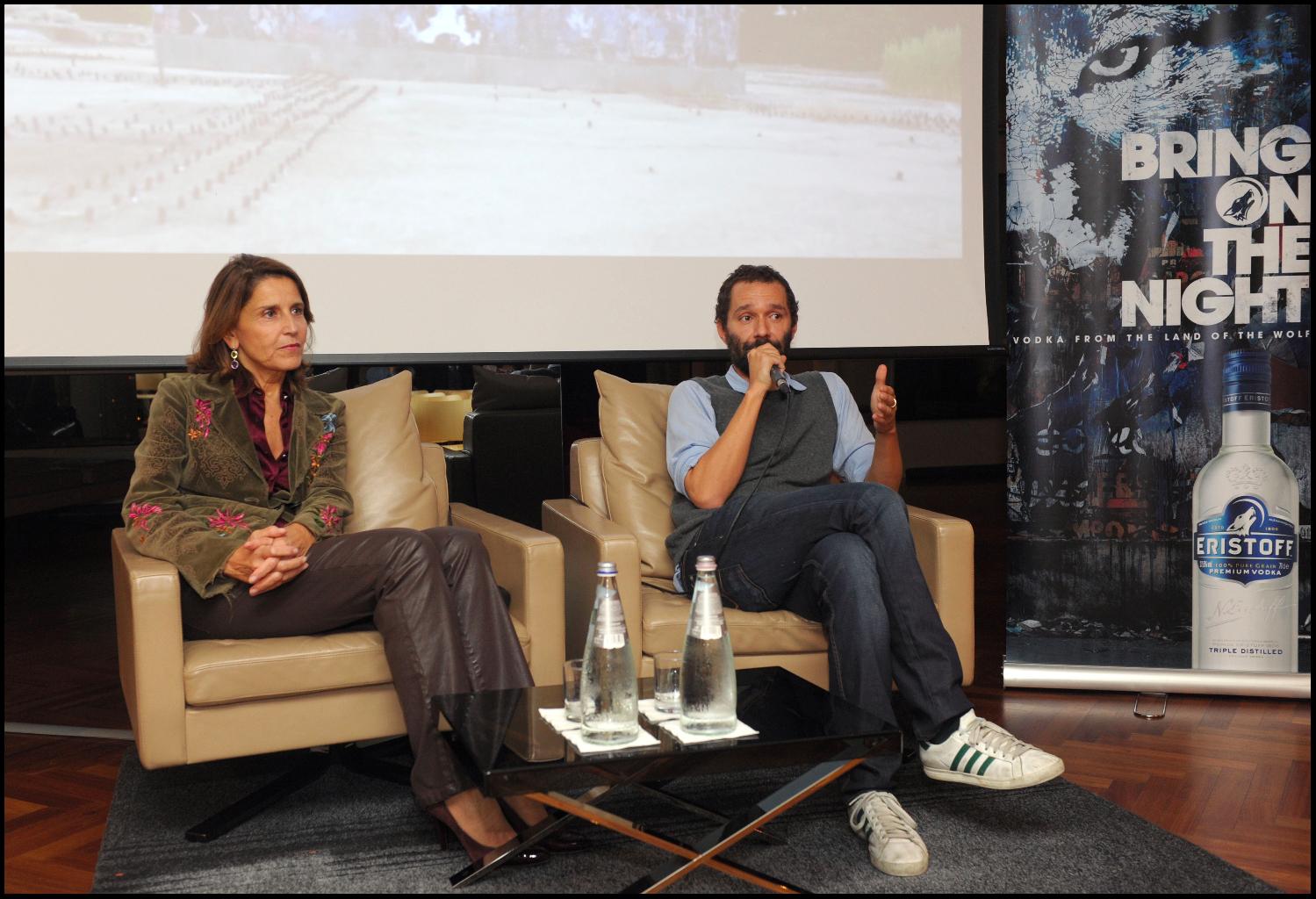 Barbara Herlitzka, PR Manager Martini&Rossi e Boosta, aka Davide Di Leo alla presentazione