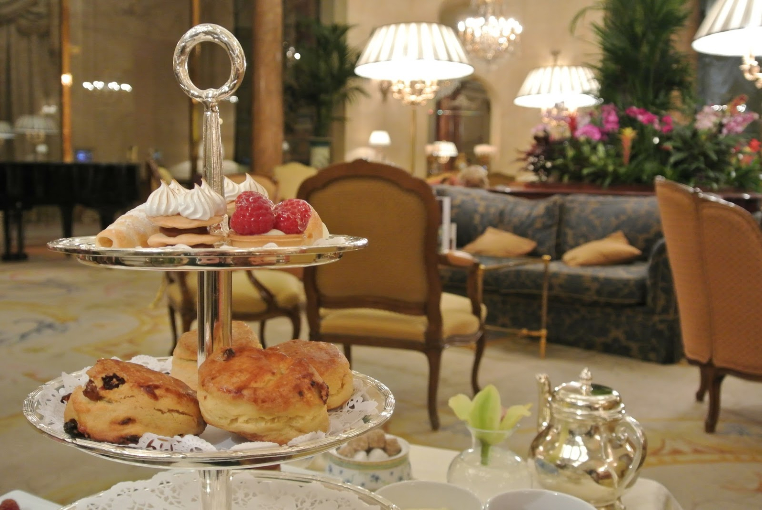 Afternoon tea the ritz