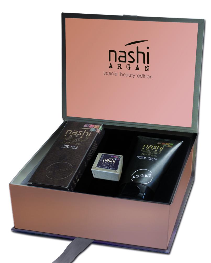 Nashi Argan Gift Box Natale Body