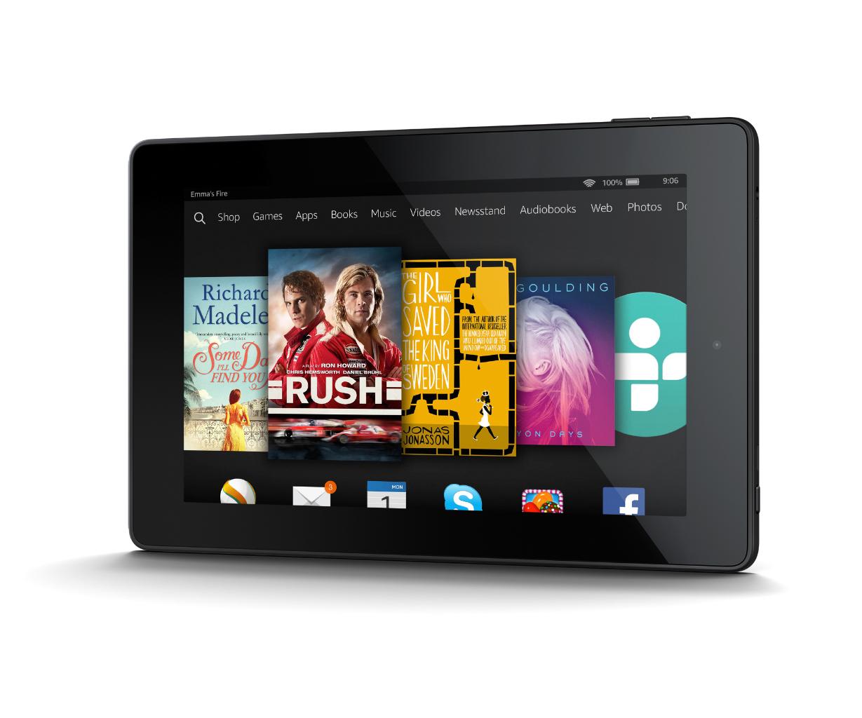 Tablet fire hd 7 il tablet di casa amazon for Amazon casa