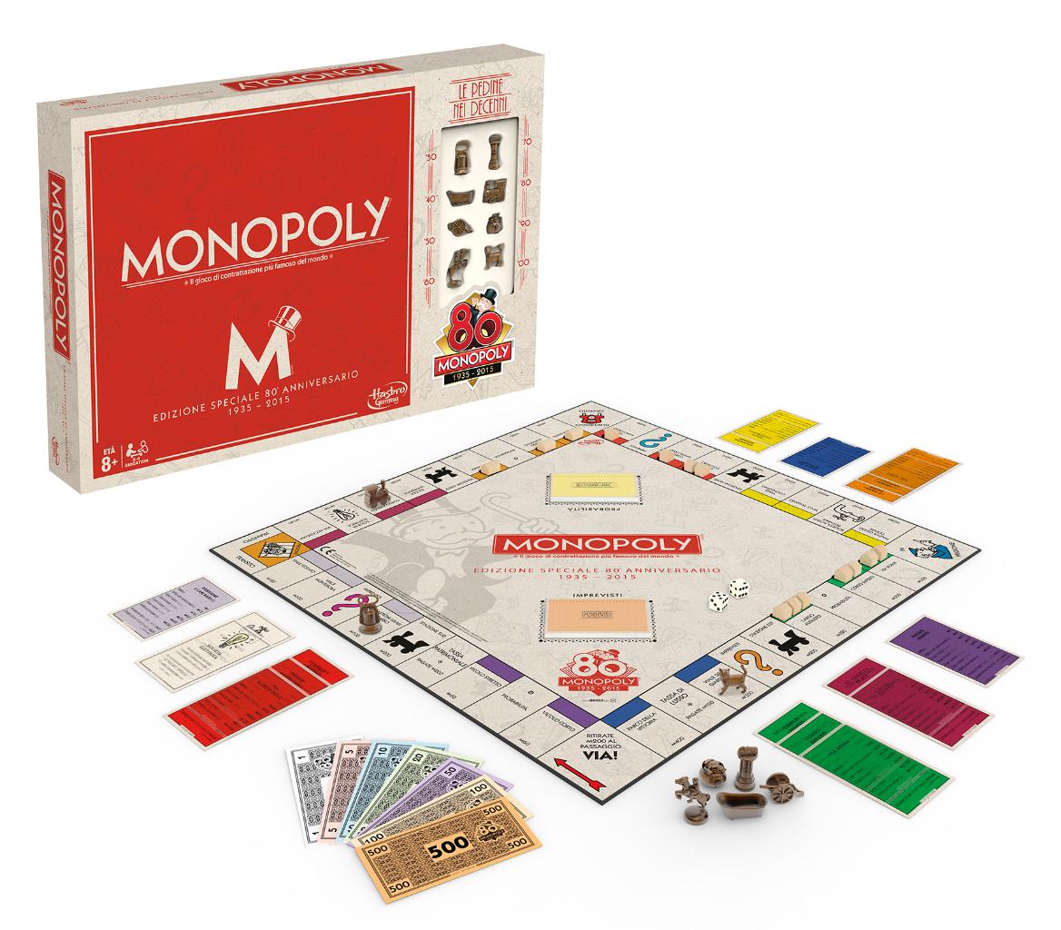 Edizione speciale e limitata_Monopoly 80° Anniversario