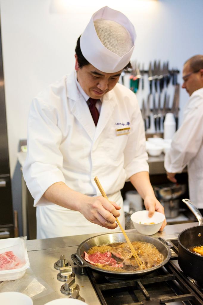Sukyaki - Ristorante Iamhan - Chef Yamagishi
