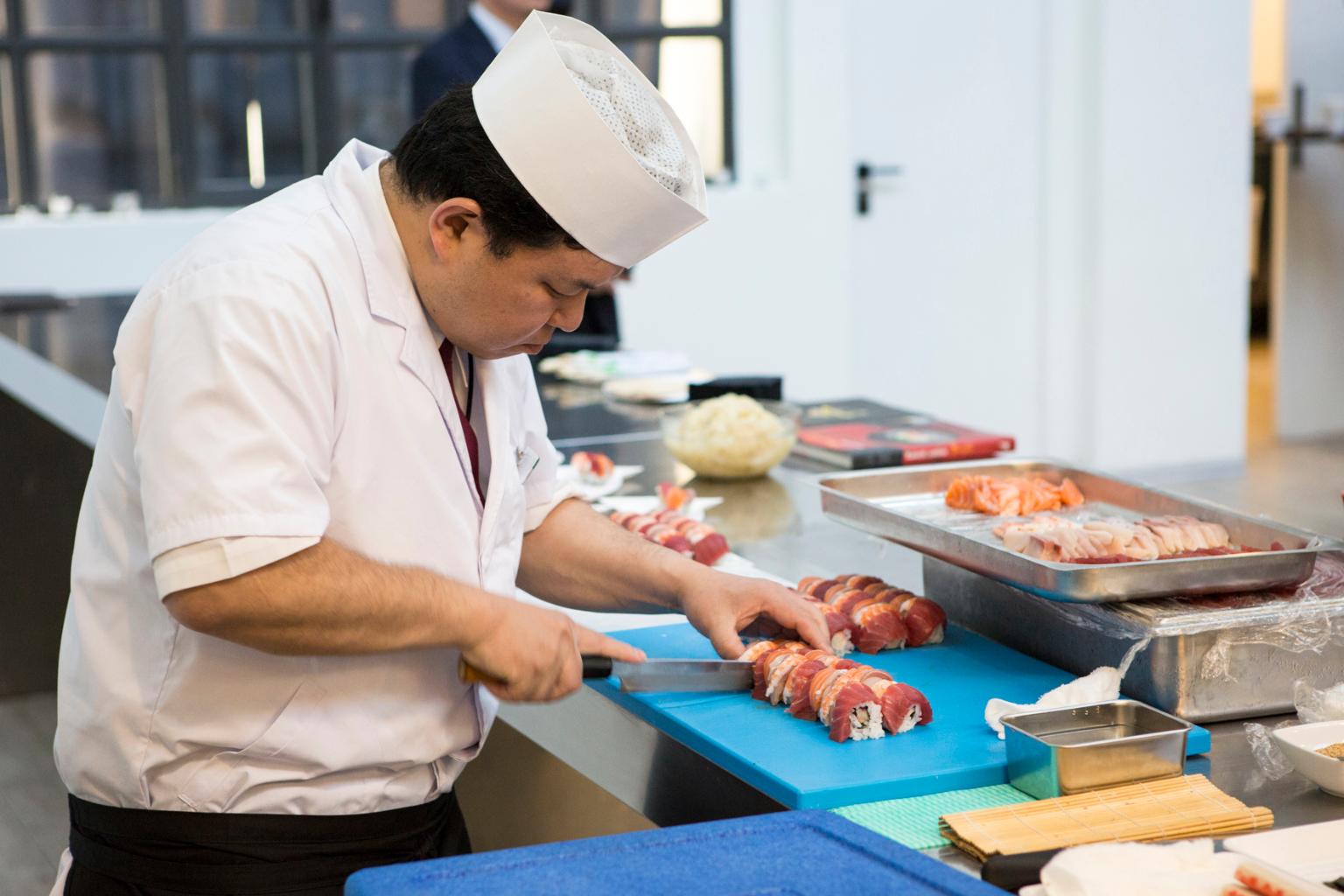 Sushi - Ristorante Kyodaru - Chef Shimizu