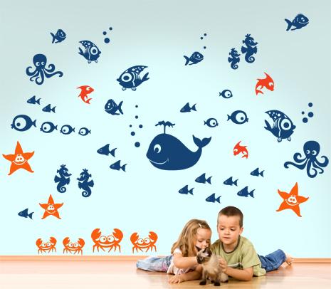 adesivi-murali_Animali-marini-pesci_grande