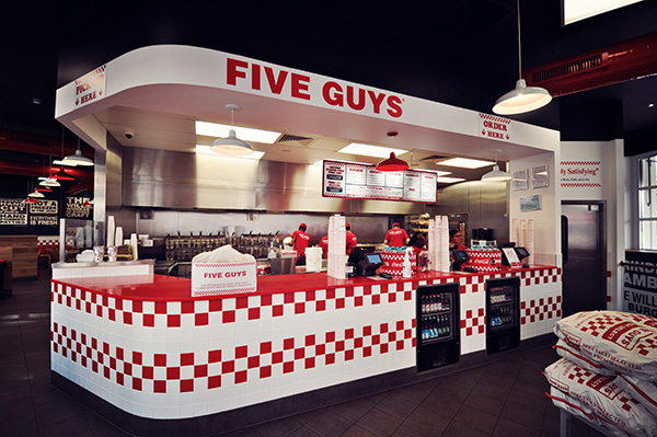 Five Guys Londra