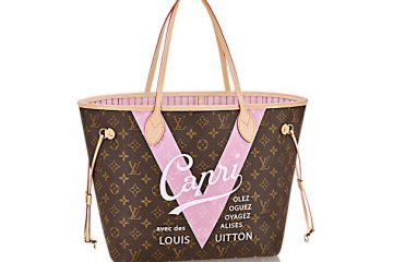 Louis Vuitton Neverfull Rose Ballerine