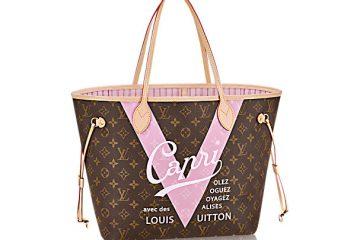 Louis Vuitton Neverfull Rose Ballerine