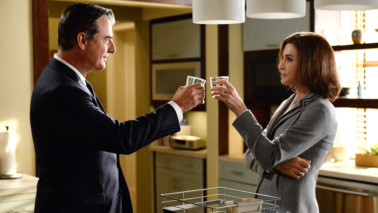Alicia e Peter Florrick_The Good Wife