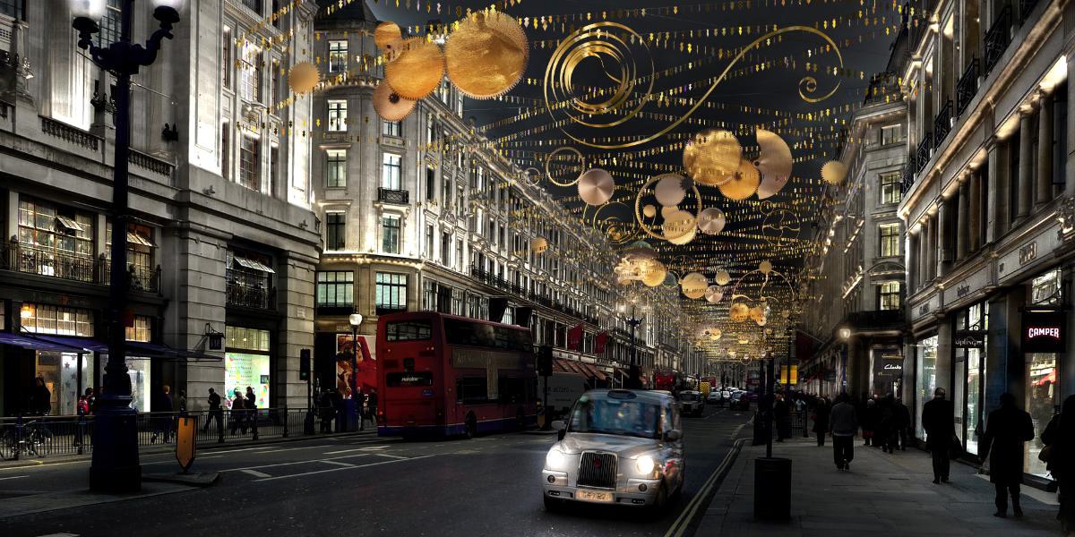 Decorazioni Natalizie Londra 2019.Le Piu Belle Luci Di Natale E Vetrine Natalizie A Londra