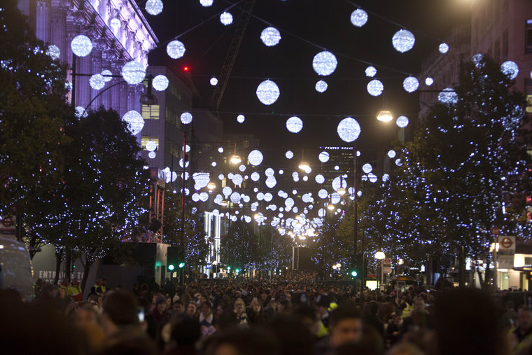 Luci di Natale Oxford Street