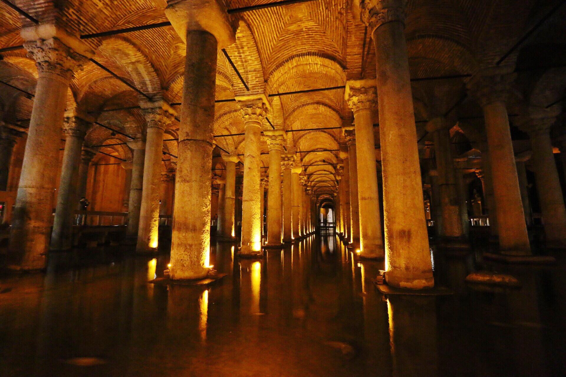 yerebatan sarayi basilica cistern istanbul theoldnow