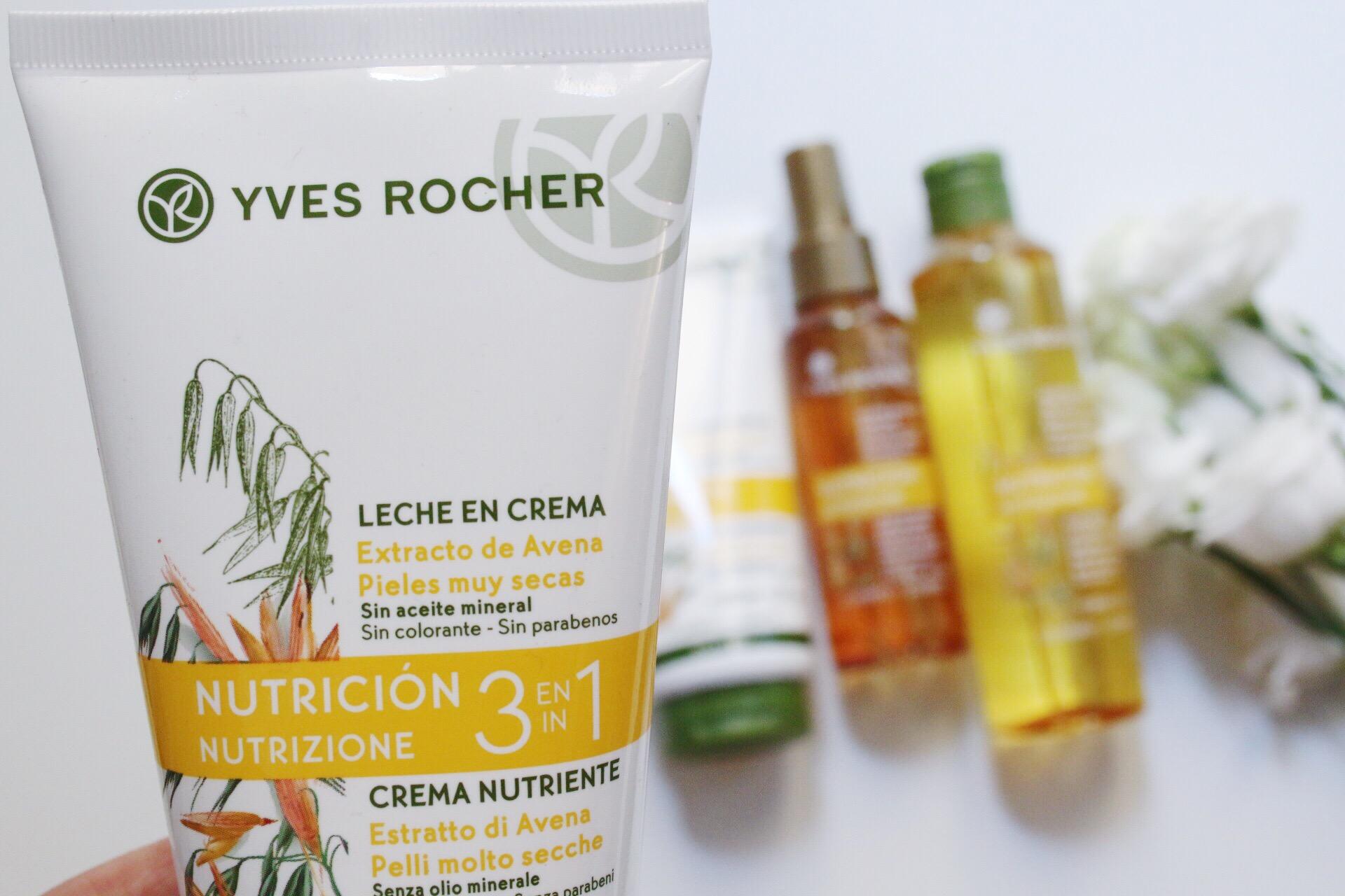 Bagno Doccia Avena Yves Rocher : Yves rocher inside the beauty case