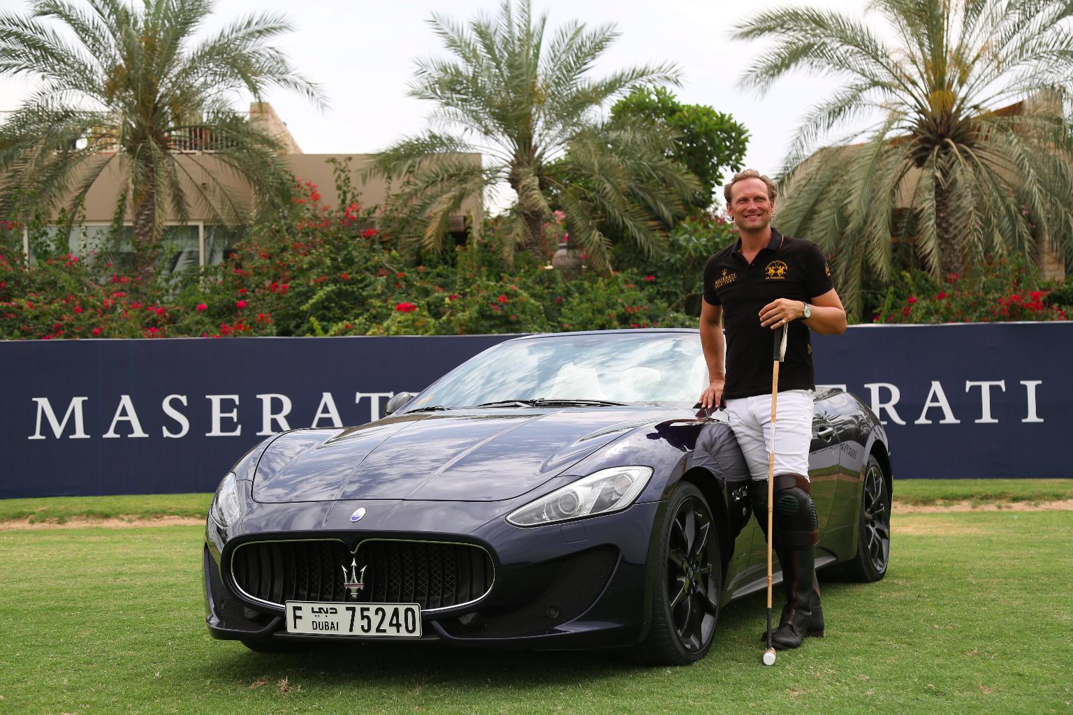 Ebe Sievwright_Ambassador La Martina - Maserati Dubai Polo Challenge
