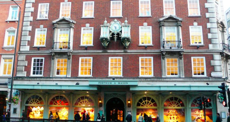 Fortnum and Mason Picadilly Circus Londra
