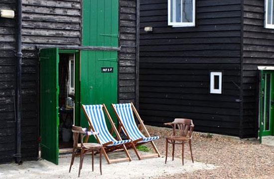 Vacanze mare Inghilterra fishermen hut Whitstable Kent