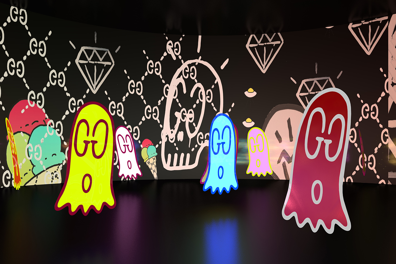 Gucci 4 Rooms - 4 Gucci Ghost