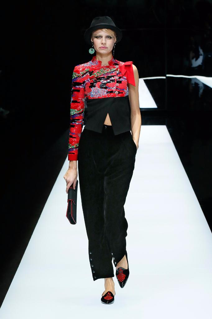 Giorgio Armani Womenswear FW1718_#09