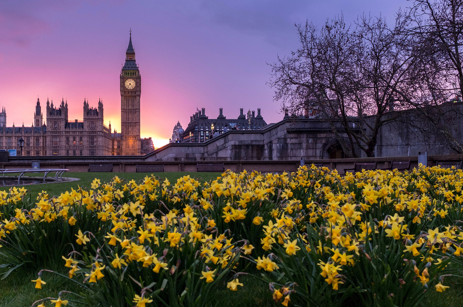 andare a Londra in primavera