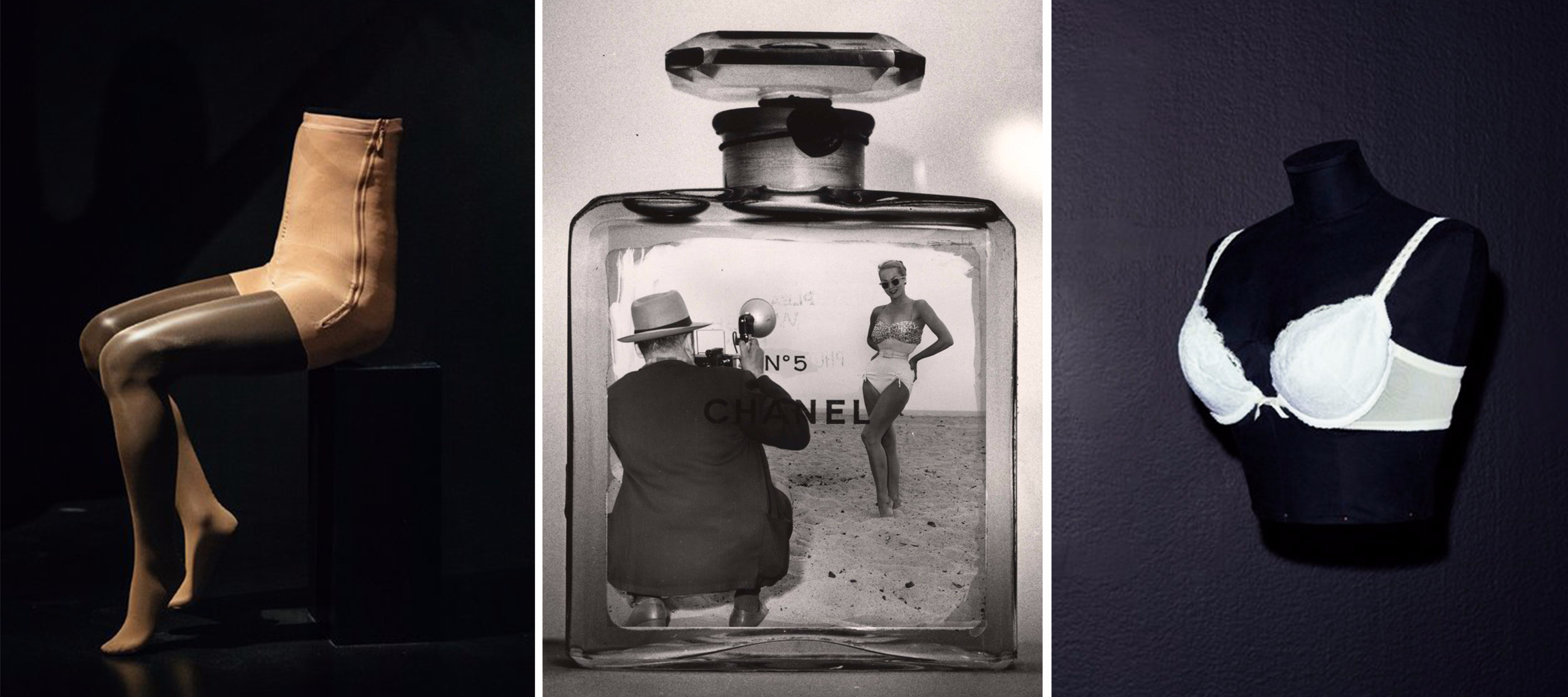 """Chanel No. 5, shown here in a 1959 photograph by Weegee, is one of the 111 iconic wearable designs in """"Items: Is Fashion Modern?"""" at New York's Museum of Modern Art. Photo: Getty Images"""