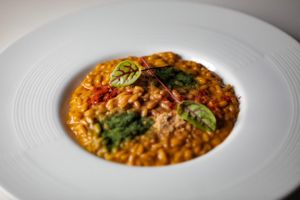 Taste of courmayeur -Risotto Cremolato agli Scampi DANIELE USAI
