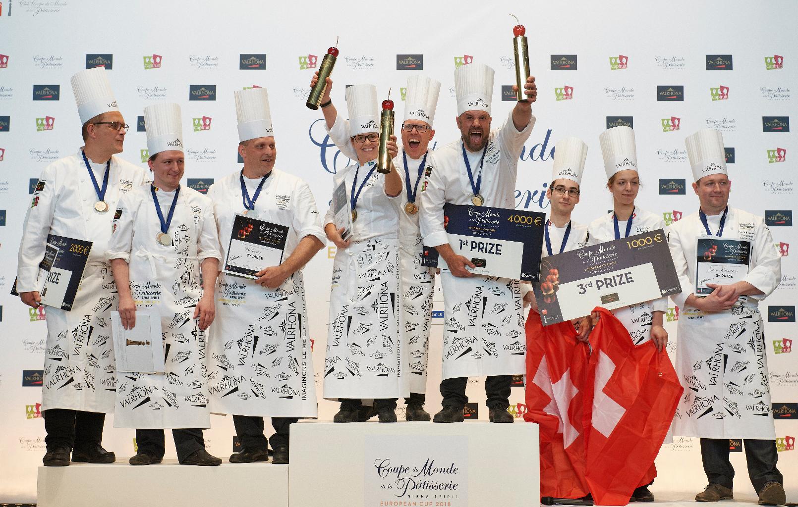 Coppa del mondo pasticceria premiazione