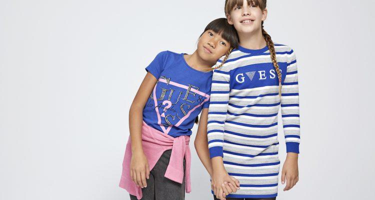 free shipping eab03 b27fa Guess Kids a Pitti 88 ecosostenibilità e moda per bimbi ...