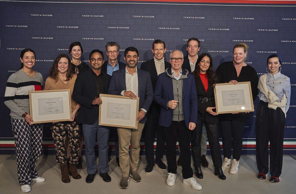 I vincitori del Tommy Hilfiger Fashion Frontier Challenge
